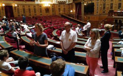 Le Conseil Municipal des Jeunes : Voyage à Paris le mercredi 19 juin 2019