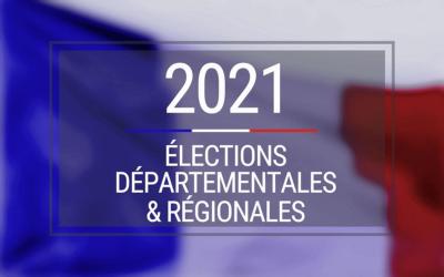 Résultats des élections départementales 2021.