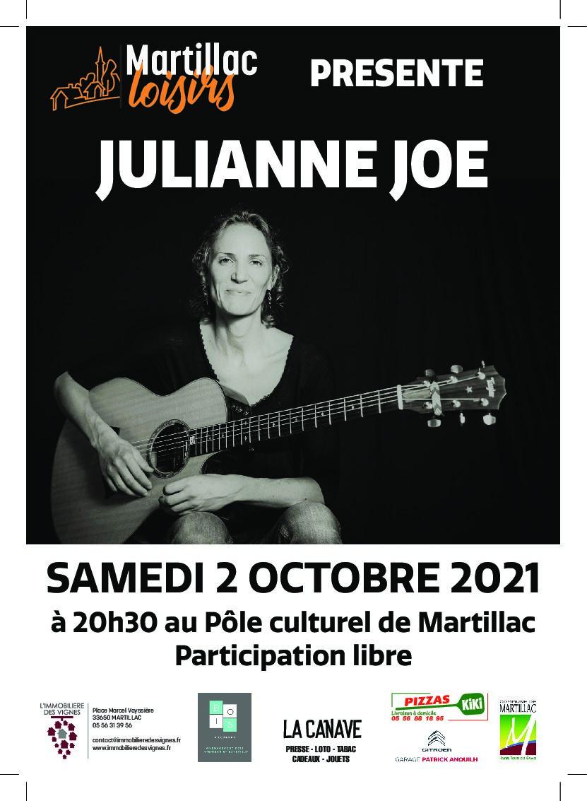 Concert de Julianne JOE