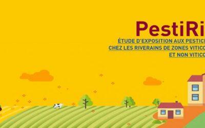 Lancement de l'étude PestiRiv sur l'exposition aux pesticides chez les riverains de zones viticoles et non viticoles.