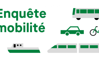 Enquête mobilité » Vos déplacements nous intéressent»