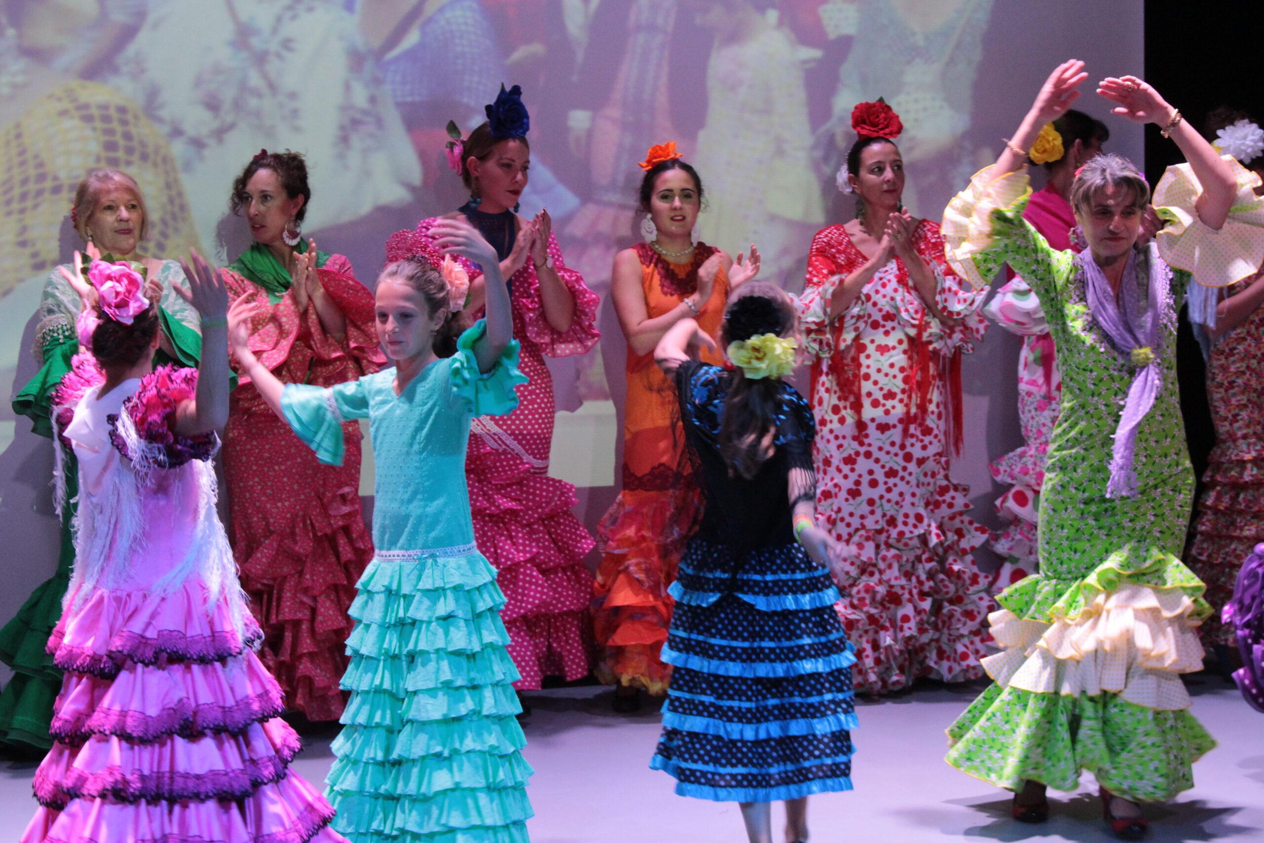 Spectacle de danses espagnoles.